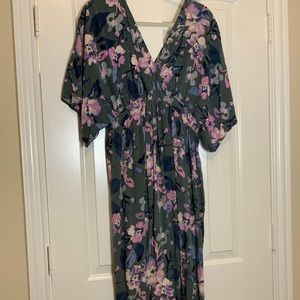 Jessica Simpson Maternity Kimono Dress
